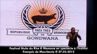 Evènement : Mamane à Nouakchott - Festival Nuits du Rire 2015 streaming