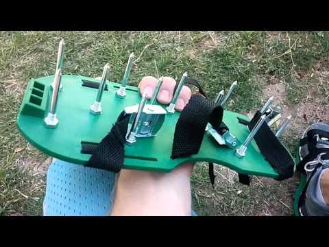 Ohuhu Lawn Aerator Shoes Revew