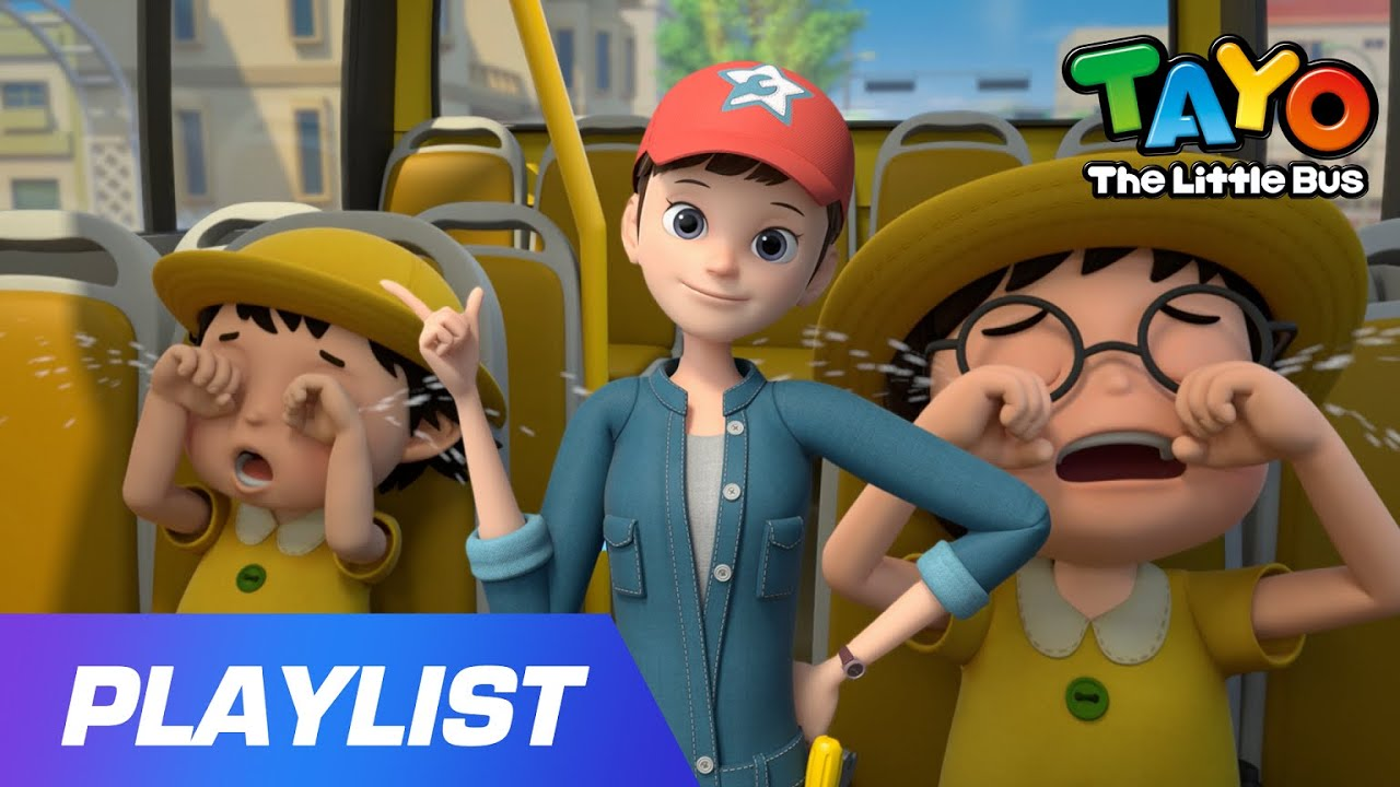 [20min] Seat Belt Song with Tayo l Help us! l Preschool Safety Song l Tayo Sing Along Special