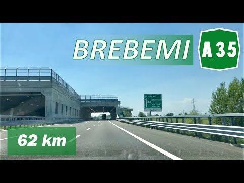 A35 - BreBeMi | BRESCIA - MILANO | Percorso Completo