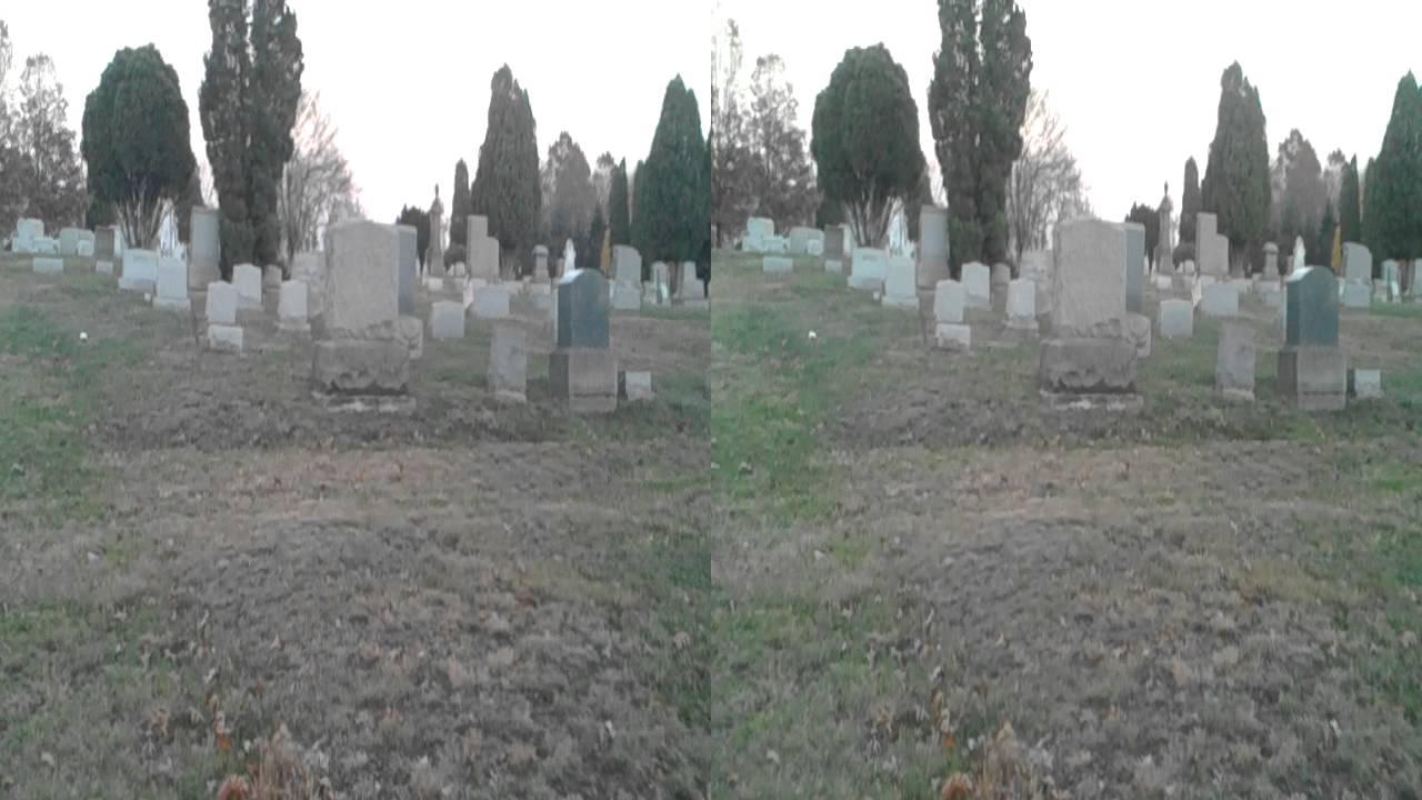 evans city cemetery in 3d 1 youtube