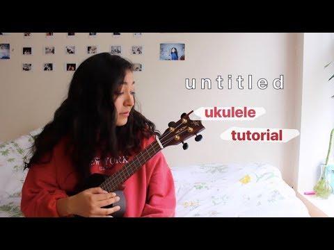 Untitled - Rex Orange County (ukulele TUTORIAL)