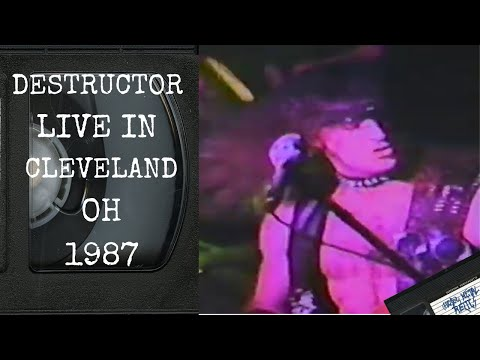 DESTRUCTOR Live in Cleveland OH November 8 1987 [FULL CONCERT]