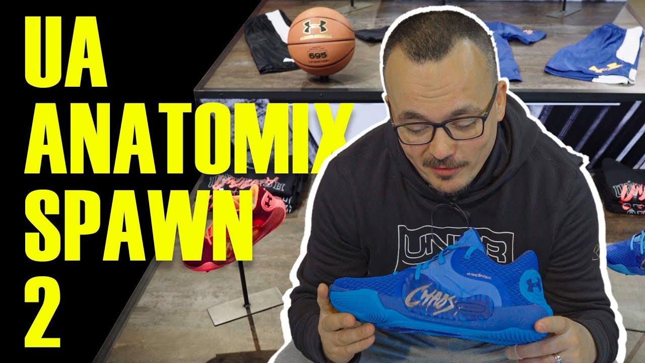 sueño Converger aceleración  Under Armour Anatomix Spawn 2 | Basketball Shoe Review - YouTube