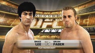 EA SPORTS UFC - Брюс Ли против Урайа Фабера