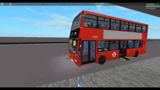 Roblox London Hackney & Limehouse bus simulator Wright Pulsar Gemini DAF Arriva London Route 254