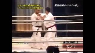 顔面攻撃で敗れた後、武道家として大きく進化された姿を見た。