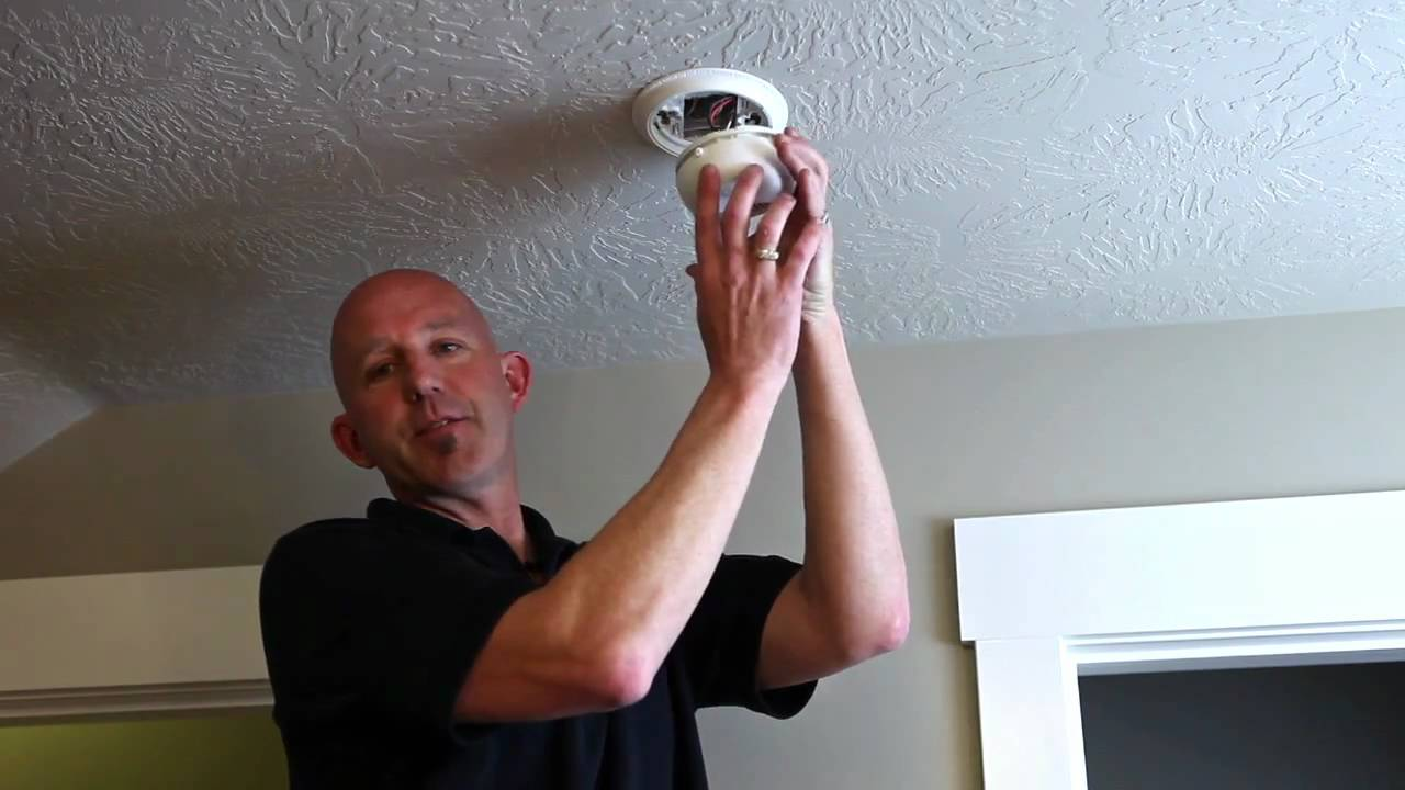 Home Maintenance How To Change Smoke Detector Battery Youtube