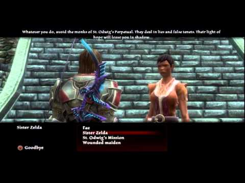 Kingdoms Of Amalur Reckoning 8 Upgrade Weapon And Armor Youtube