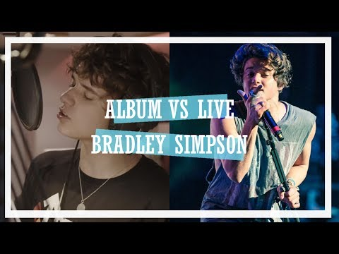 Brad Simpson | Album vs Live