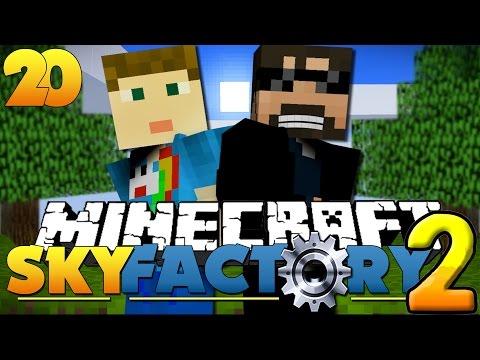 Minecraft SkyFactory 2 - DRACONIC ENERGY CORE?! [20]