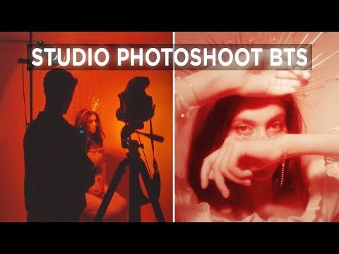 Studio Photoshoot Behind The Scenes