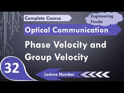Phase Velocity And Group Velocity In Optical Fiber