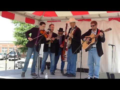 Oly Mountain Boys Bluegrass Band Playing