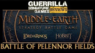 GMG REVIEWS - NEW Middle Earth SBG - The Battle of Pelennor Fields