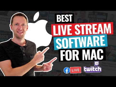 Best LIVE STREAM Software for Mac - REVIEW!