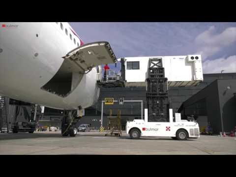 SideBull AMBULIFT for boarding of passengers with reduced mobility PRM