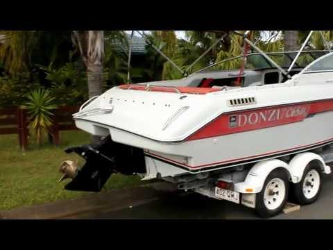 Half Cabin Cruiser For Sale Gold Coast Australia 2012