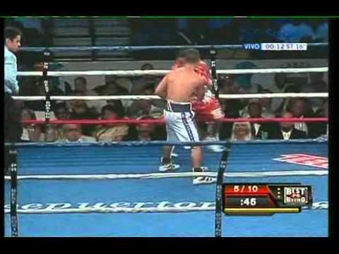 CALDERON vs RIVAS - FULL FIGHT - PELEA COMPLETA - INTERVIEW RING SIDE