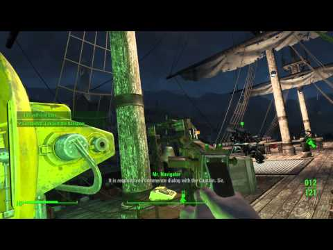 Fallout 4  | Last Voyage of the U.S.S. Constitution