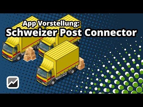 tricoma - Schweizer Post Connector - Exklusiv für den innländischen Versand in der Schweiz