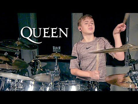 SOMEBODY TO LOVE - QUEEN (age 12) Cover by Avery Drummer