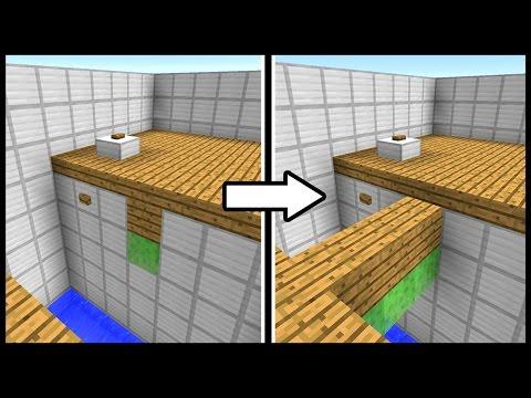 RETRACTABLE MINI BRIDGE! - Minecraft Tutorial