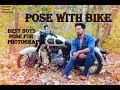 Best pose with Bike/Best Boys Pose for outdoor  Photography