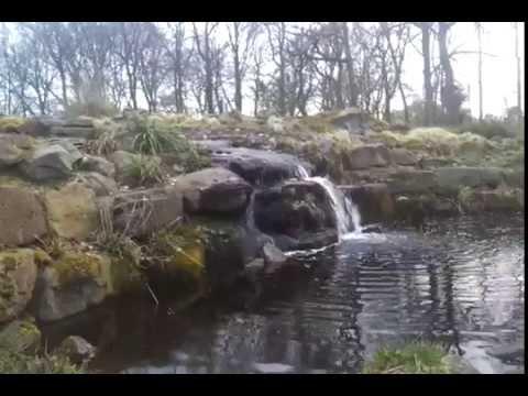 Waterval van de botanische tuin van brakkenstein park for Tuin aanleggen nijmegen