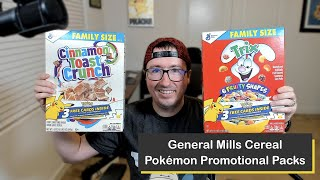 Pokémon 25th Anniversary General Mills Cereal Promo Cards