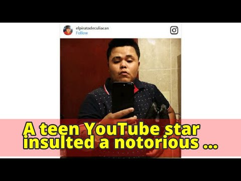 A teen YouTube star insulted a notorious Mexican drug lord. His body was found with 15 bullet wounds