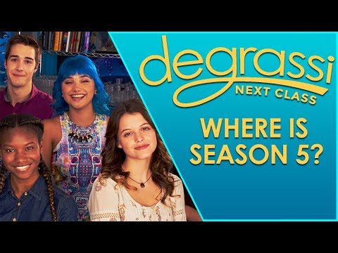 Degrassi: Next Class Is Over As We Know It.