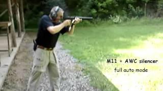 full auto swd m11 awc suppressor