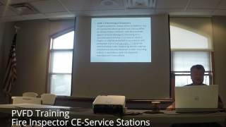 Fire Inspector CE-Service Stations Part 1