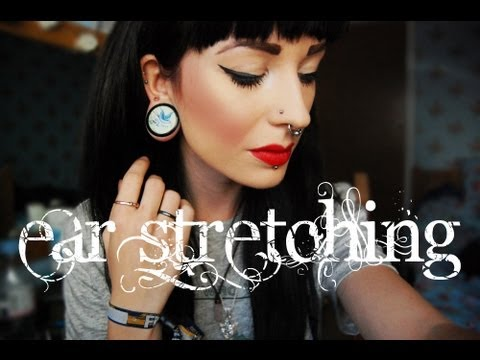 Ear Stretching - How To Do It The Right Way.