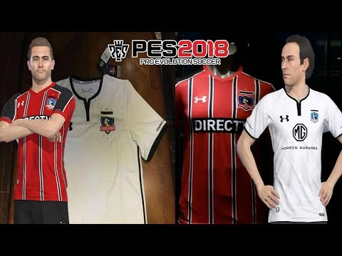 best sneakers 904f7 4be86 PES 2018 I CAMISETA ROJA COLO COLO 2017+POSIBLE CAMISETA LOCAL 2018