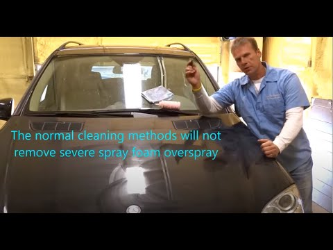 National Overspray Removal Services / Polyurethane Spray Foam Overspray / Company Intro