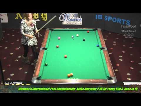 Women's International Pool Championships Akiko Kitayama VS Ga Young Kim