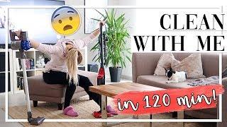 CLEAN WITH ME CHALLENGE! In 120 Min. das GANZE Haus aufräumen! TheBeauty2go