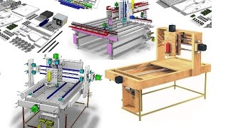 DIY CNC Woodworking Machine-How To Make An Ultra Precise CNC Router+My Story-FULL Plans/Videos/eBook