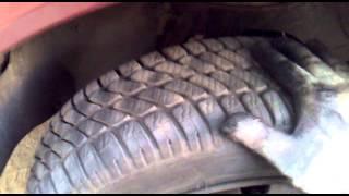 Люфт переднего левого (водительского) колеса. Renault 21. Часть 2