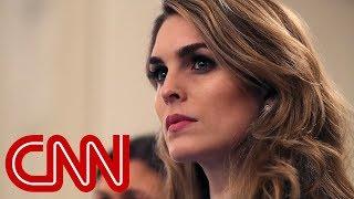 Hope Hicks resigning from White House