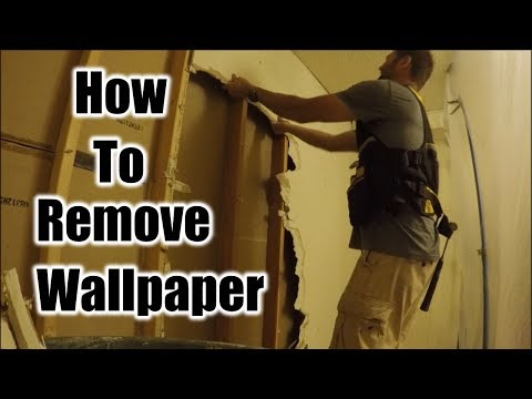 New Way To Remove Wallpaper | THE HANDYMAN |