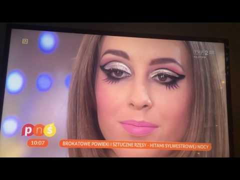 """Hit Internetu: """"Pytanie na śniadanie"""" uczy, jak zrobić sylwestrowy makijaż"""