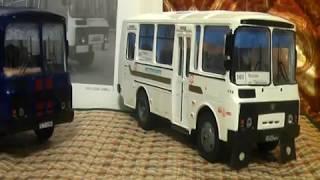 Автобус ПАЗ-3206 конверсія з ПАЗа -32053 від Autotime огляд 1:43