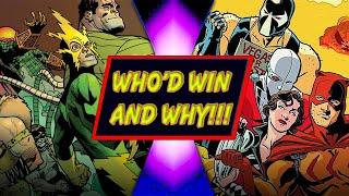 Sinister Six VS Secret Six - WHO