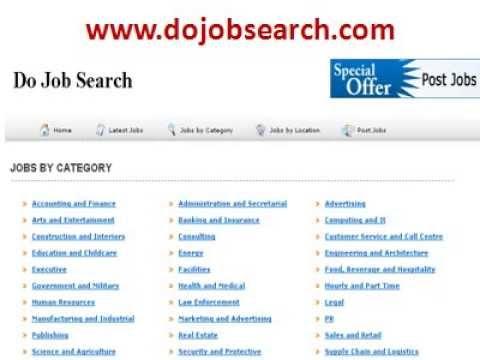 Job Search Do Job Search Job Search Websites Job Search Sites