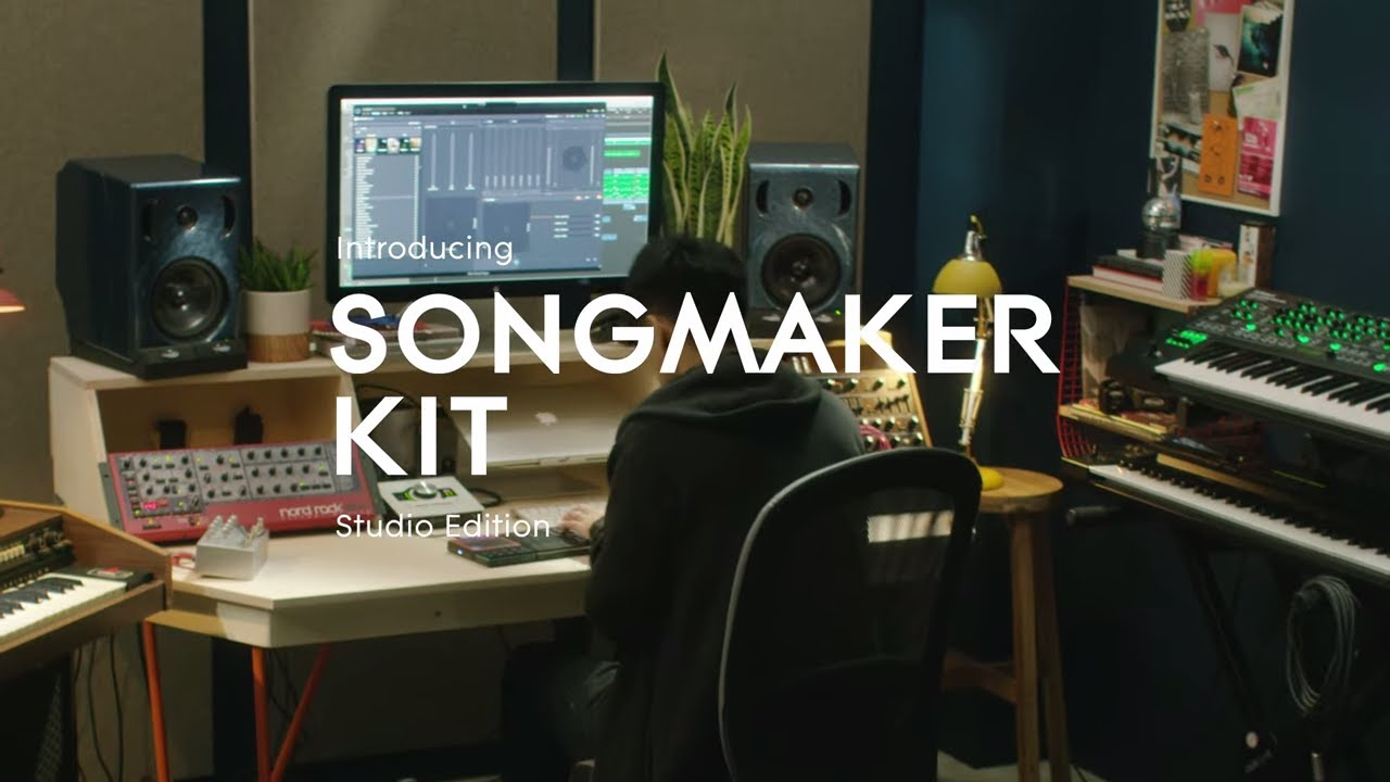 introducing songmaker kit studio edition