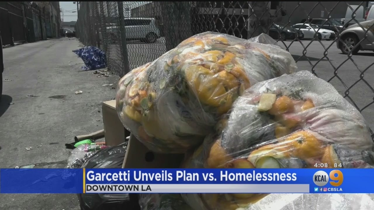Group Demands Recall Of Mayor Garcetti Over 'Failed Leadership' On LA Homeless Crisis