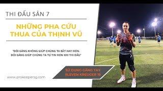 Tập 1: những pha cản phá bóng hay sân 7 cỏ nhân tạo | Ep.1: Artificial grass Soccer Keeper Saves